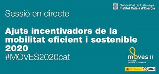 SESSIÓ INFORMATIVA MOVES II A CÀRREC DE L'ICAEN.