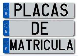 MANIPULADORES PLACAS DE MATRÍCULA. NUEVO PROCEDIMIENTO A PARTIR DE 01/01/2021.